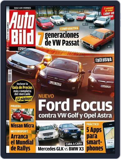 Auto Bild Es February 11th, 2011 Digital Back Issue Cover