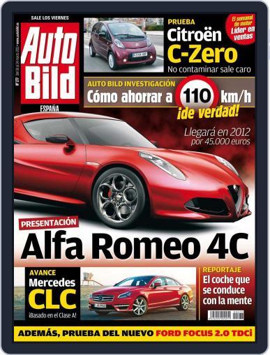 Auto Bild Es (Digital) March 18th, 2011 Issue Cover