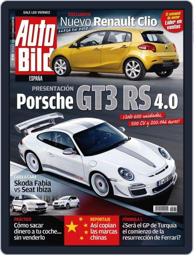 Auto Bild Es May 5th, 2011 Digital Back Issue Cover