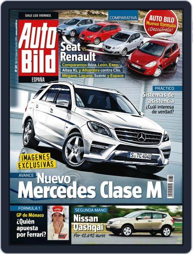 Auto Bild Es (Digital) May 31st, 2011 Issue Cover