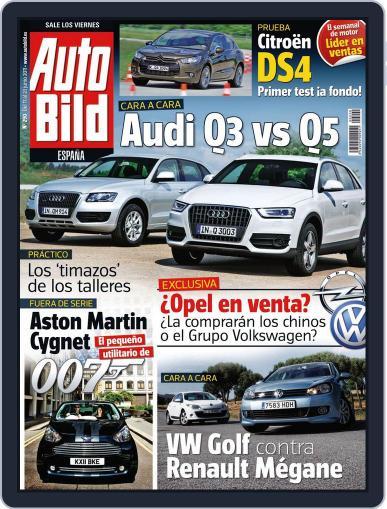 Auto Bild Es (Digital) June 16th, 2011 Issue Cover