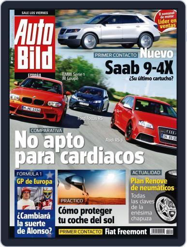 Auto Bild Es (Digital) June 23rd, 2011 Issue Cover