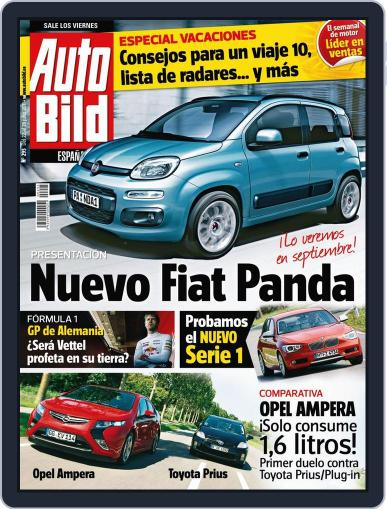 Auto Bild Es July 22nd, 2011 Digital Back Issue Cover