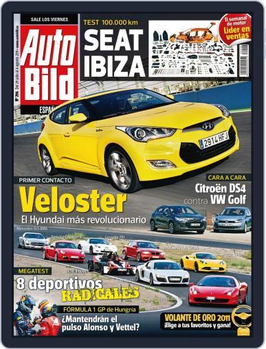 Auto Bild Es (Digital) July 29th, 2011 Issue Cover