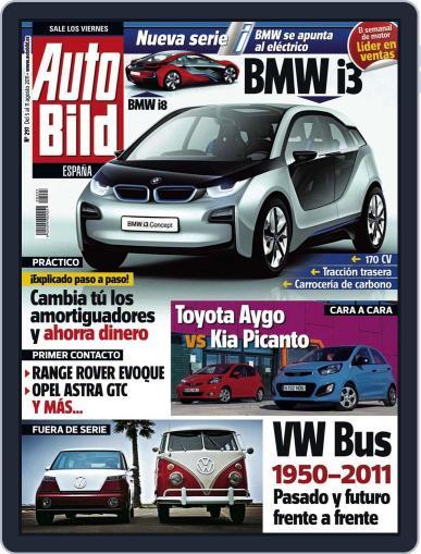 Auto Bild Es (Digital) August 5th, 2011 Issue Cover