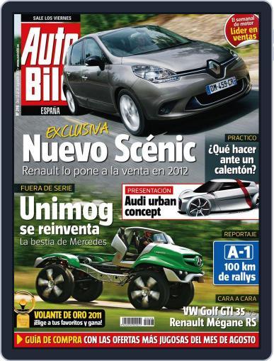 Auto Bild Es (Digital) August 12th, 2011 Issue Cover