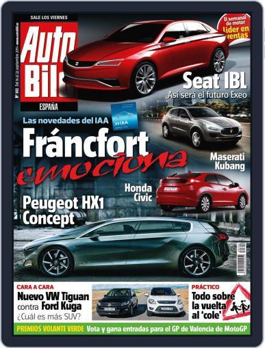 Auto Bild Es September 16th, 2011 Digital Back Issue Cover