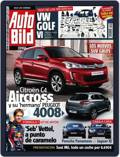 Auto Bild Es October 7th, 2011 Digital Back Issue Cover
