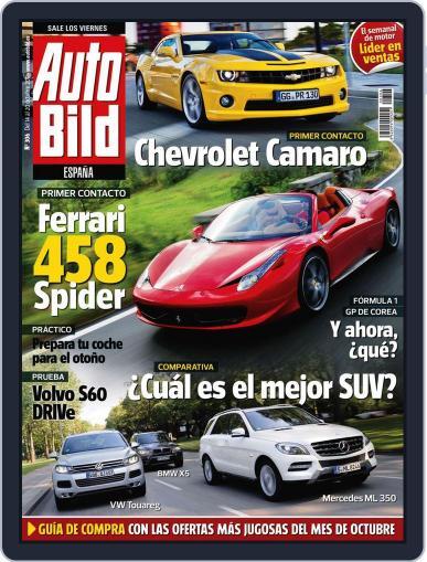 Auto Bild Es (Digital) October 13th, 2011 Issue Cover
