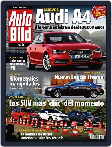 Auto Bild Es (Digital) October 28th, 2011 Issue Cover