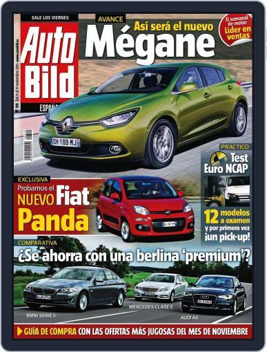 Auto Bild Es (Digital) November 10th, 2011 Issue Cover