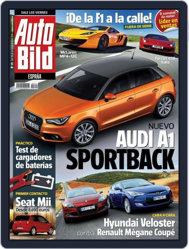 Auto Bild Es (Digital) November 18th, 2011 Issue Cover