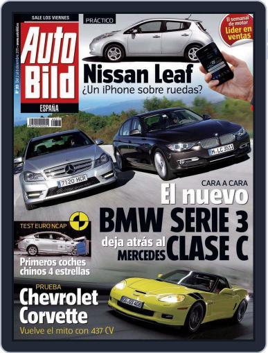 Auto Bild Es (Digital) December 2nd, 2011 Issue Cover