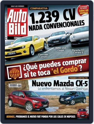 Auto Bild Es (Digital) December 16th, 2011 Issue Cover