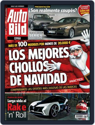 Auto Bild Es December 23rd, 2011 Digital Back Issue Cover