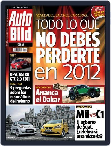Auto Bild Es (Digital) December 30th, 2011 Issue Cover