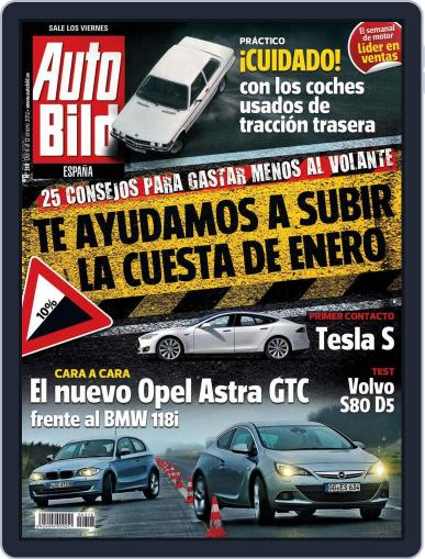 Auto Bild Es January 5th, 2012 Digital Back Issue Cover