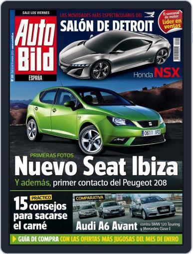 Auto Bild Es (Digital) January 13th, 2012 Issue Cover