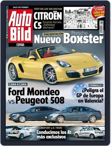Auto Bild Es (Digital) January 20th, 2012 Issue Cover