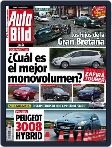 Auto Bild Es (Digital) February 3rd, 2012 Issue Cover