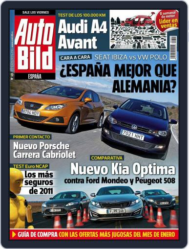 Auto Bild Es (Digital) February 10th, 2012 Issue Cover