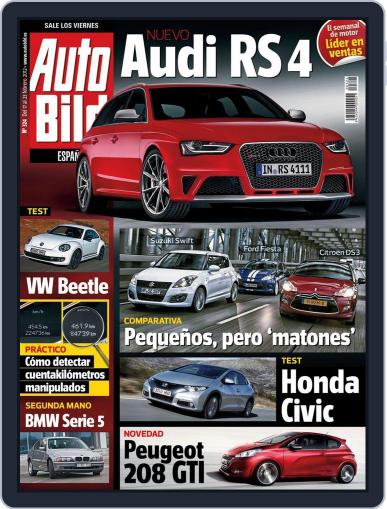 Auto Bild Es (Digital) February 17th, 2012 Issue Cover