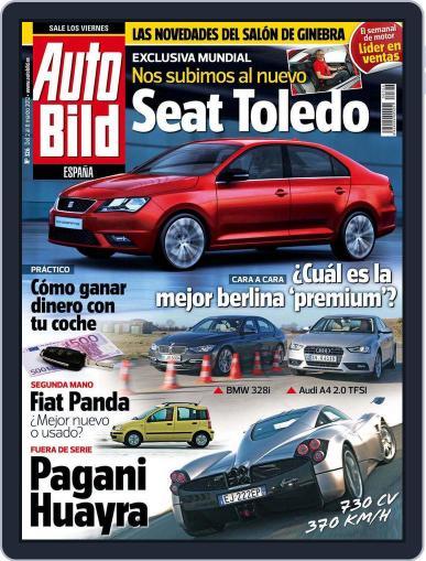 Auto Bild Es (Digital) March 2nd, 2012 Issue Cover