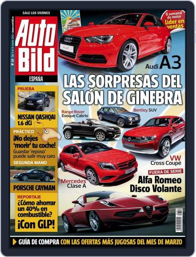 Auto Bild Es March 9th, 2012 Digital Back Issue Cover