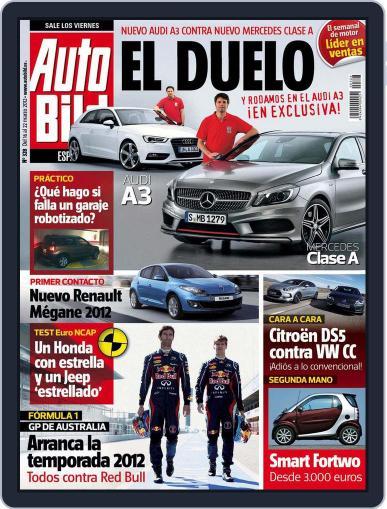 Auto Bild Es (Digital) March 16th, 2012 Issue Cover