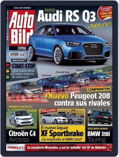 Auto Bild Es (Digital) April 20th, 2012 Issue Cover