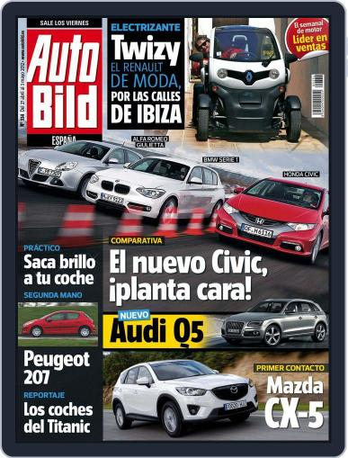Auto Bild Es (Digital) April 27th, 2012 Issue Cover