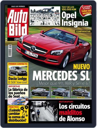 Auto Bild Es (Digital) May 4th, 2012 Issue Cover