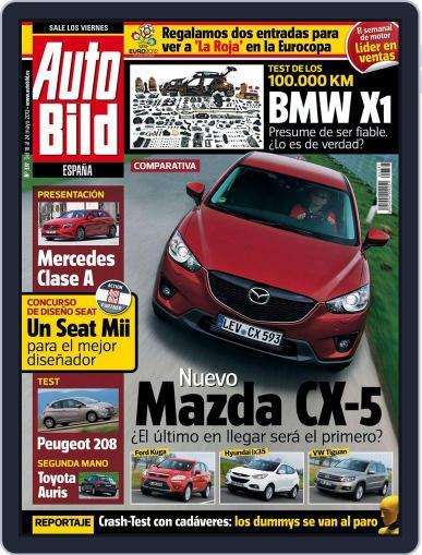Auto Bild Es (Digital) May 18th, 2012 Issue Cover