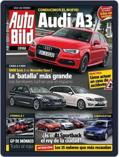 Auto Bild Es (Digital) May 25th, 2012 Issue Cover