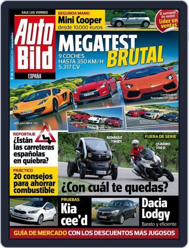 Auto Bild Es (Digital) June 15th, 2012 Issue Cover