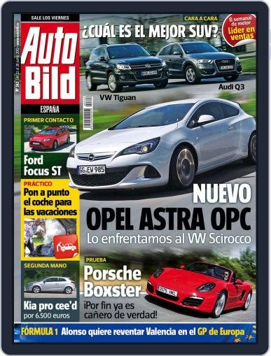 Auto Bild Es June 22nd, 2012 Digital Back Issue Cover