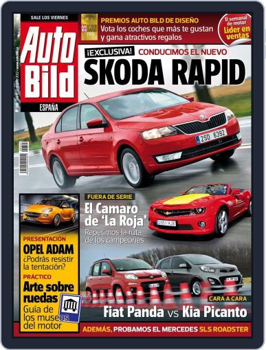 Auto Bild Es (Digital) July 13th, 2012 Issue Cover