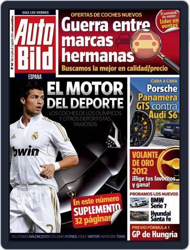 Auto Bild Es July 27th, 2012 Digital Back Issue Cover