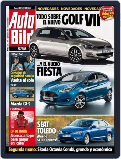 Auto Bild Es September 7th, 2012 Digital Back Issue Cover