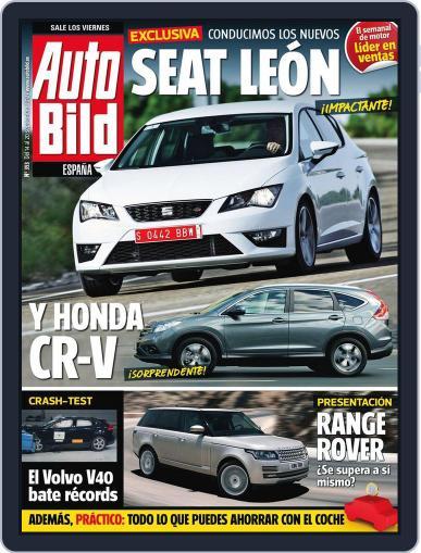 Auto Bild Es September 14th, 2012 Digital Back Issue Cover