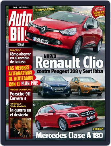 Auto Bild Es November 2nd, 2012 Digital Back Issue Cover