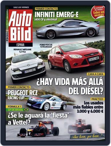 Auto Bild Es November 23rd, 2012 Digital Back Issue Cover