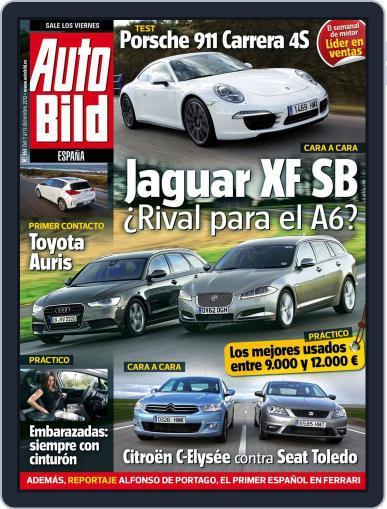 Auto Bild Es December 12th, 2012 Digital Back Issue Cover