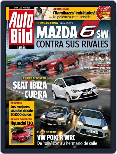 Auto Bild Es January 25th, 2013 Digital Back Issue Cover