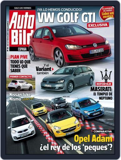 Auto Bild Es (Digital) February 1st, 2013 Issue Cover