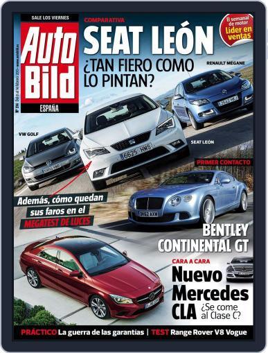 Auto Bild Es (Digital) February 8th, 2013 Issue Cover