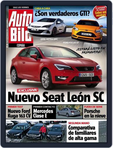 Auto Bild Es (Digital) February 15th, 2013 Issue Cover