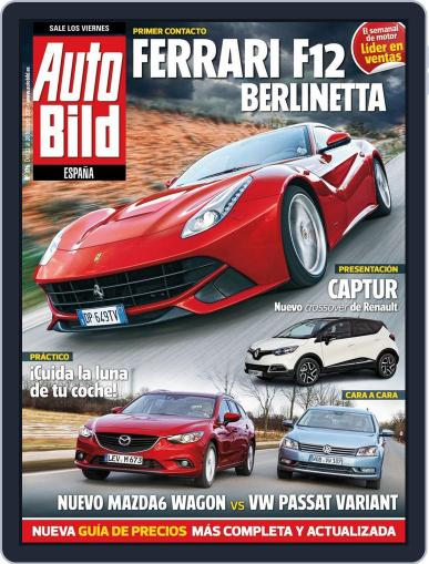 Auto Bild Es (Digital) February 22nd, 2013 Issue Cover
