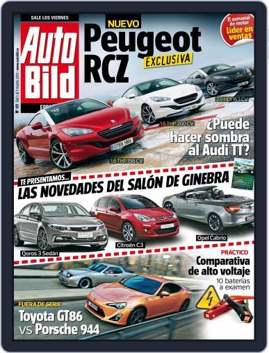 Auto Bild Es (Digital) March 1st, 2013 Issue Cover