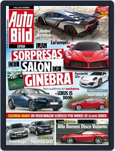 Auto Bild Es (Digital) March 8th, 2013 Issue Cover